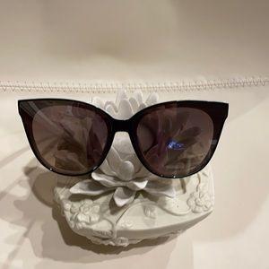 NEW Ray Ban White Cat Eye Sunglasses